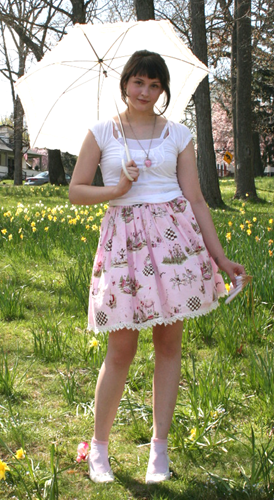 Daffodil Festival meet-up outfit!
