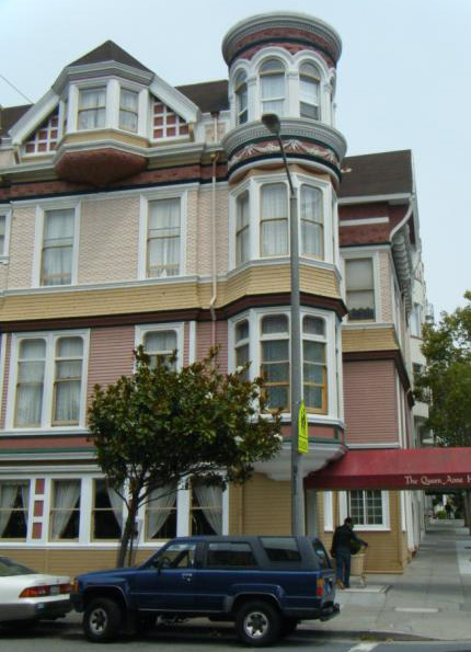 The Queen Anne Hotel in San Francisco